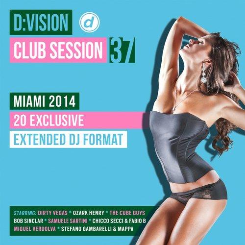 D:Vision Club Session 37 [Miami 2014] Album Art