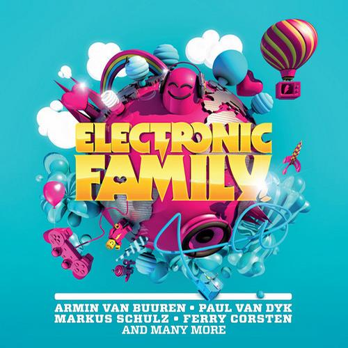 Album Art - Electronic Family (The Compilation)