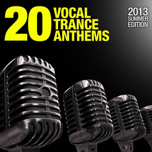 Album Art - 20 Vocal Trance Anthems - 2013 Summer Edition