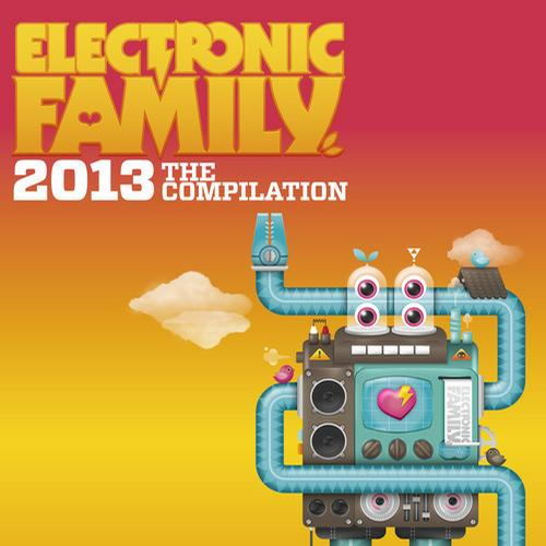 Album Art - Electronic Family 2013 - The Compilation
