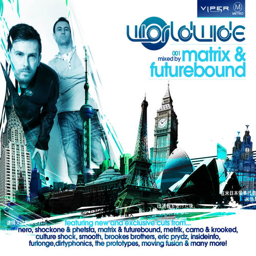 Worldwide:001 - Matrix & Futurebound Album Art