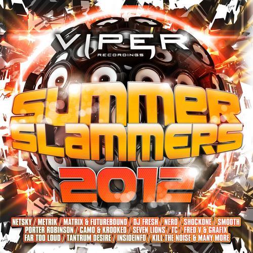 Summer Slammers 2012 Album Art