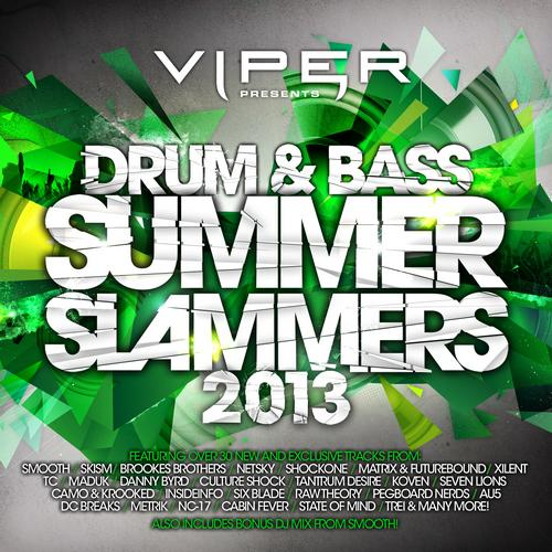 Album Art - Drum & Bass Summer Slammers 2013 (Beatport Version)