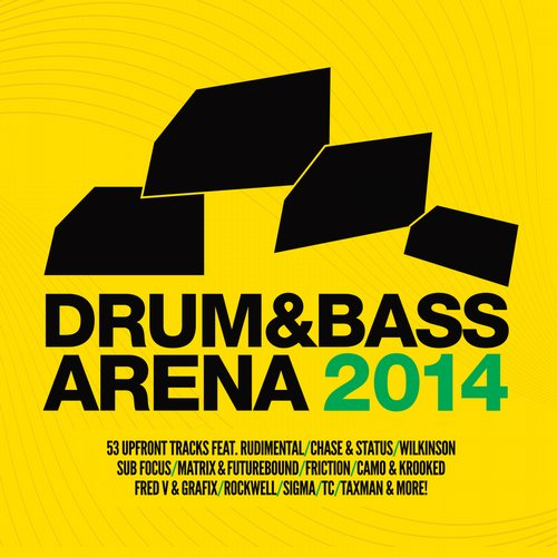 Album Art - Drum & Bass Arena 2014