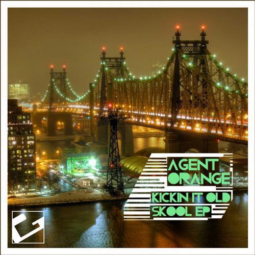 Kickin It Old Skool EP (Reworked) Album Art