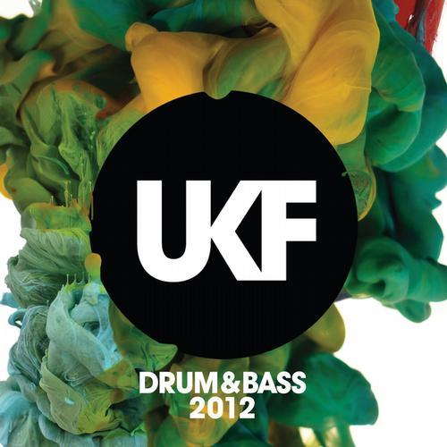 UKF Drum & Bass 2012 Album Art