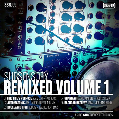 Album Art - SubSensory Remixed Volume 1