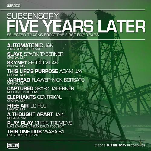 Album Art - Five Years Later