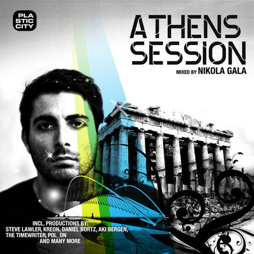 Album Art - Athens Session - Compiled And Mixed by Nikola Gala