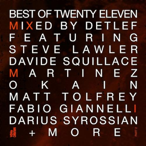 Album Art - Best Of Twenty Eleven - Part 2 - Mixed By Detlef