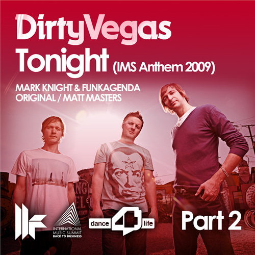 Album Art - Tonight (Ims Anthem 2009) Part 2