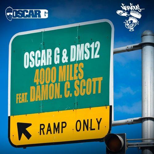 4000 Miles Feat. Damon C Scott Album Art