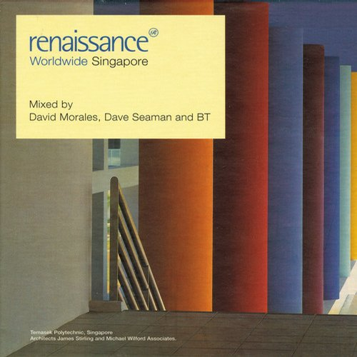 Album Art - Renaissance Worldwide - Singapore - Mix Edition
