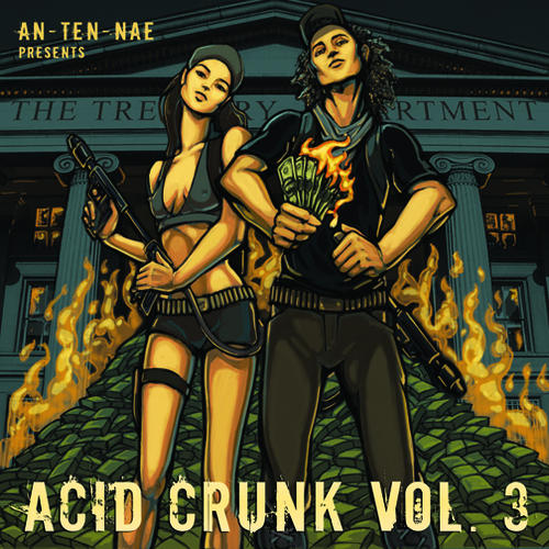 Album Art - An-ten-nae Presents Acid Crunk Volume 3