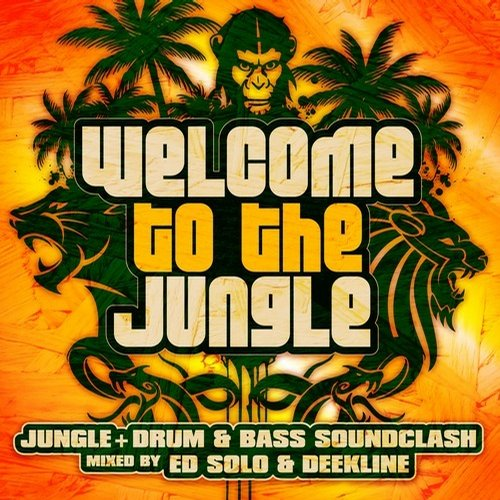 Welcome To The Jungle: The Ultimate Jungle Cakes Drum & Bass Compilation (Copy) Album Art