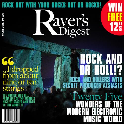 Album Art - Ravers Digest (January 2013)