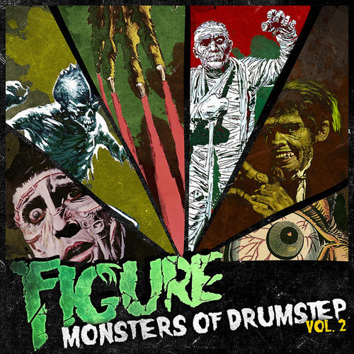 Album Art - Monsters of Drumstep Volume 2