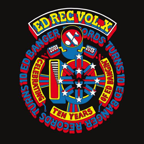 Ed Rec, Vol. X Album Art