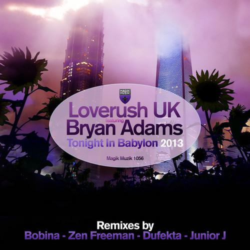 Album Art - Tonight in Babylon