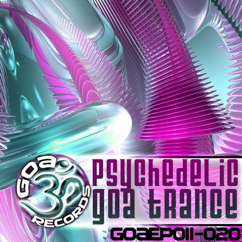 Album Art - Goa Records Psychedelic Goa Trance EP's 11-20
