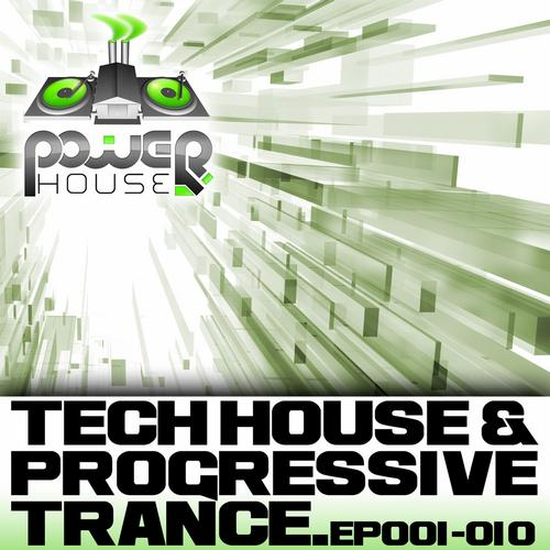 Album Art - Power House Records Progressive Trance And Tech House EP's 1-10