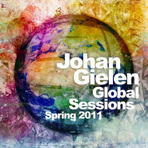 Album Art - Johan Gielen Global Sessions Spring 2011
