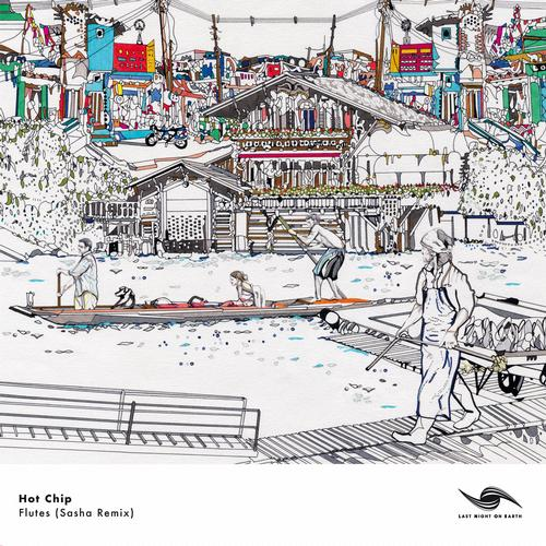 Album Art - Flutes (Sasha Remix)