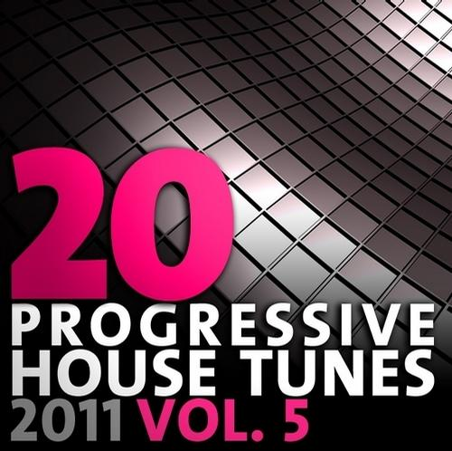 Album Art - 20 Progressive House Tunes 2011, Vol. 5