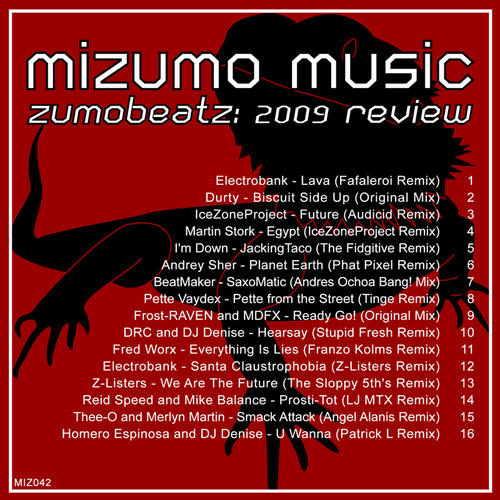 Album Art - ZumoBeatz: 2009 Review