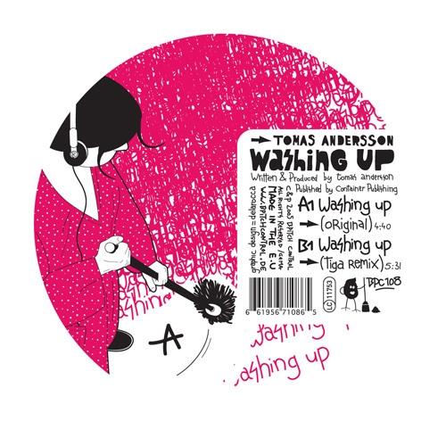 Album Art - Washing Up