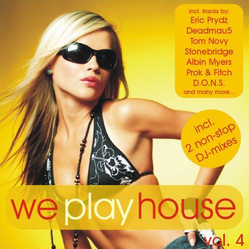 Album Art - We Play House Volume 4