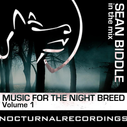 Music For The Night Breed Volume 1 (Sean Biddle In The Mix) Album Art