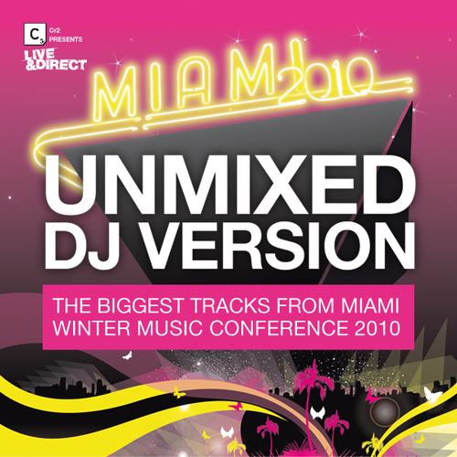 Album Art - Cr2 Presents Live & Direct - Miami 2010 - Beatport Exclusive Edition