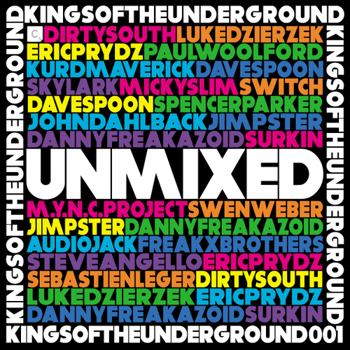 Album Art - Cr2 Presents Live & Direct: Kings Of The Underground - Unmixed