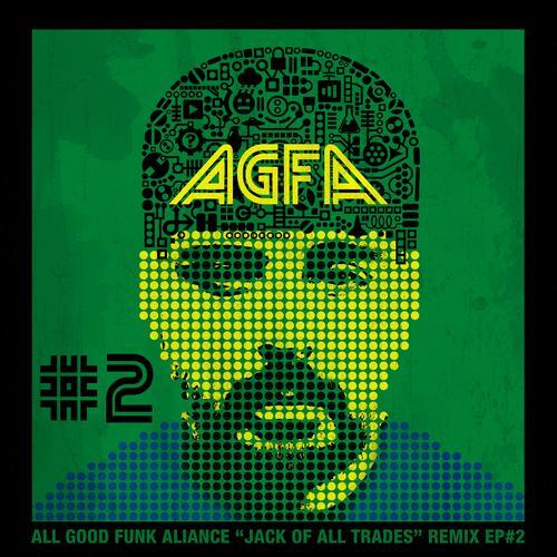 Album Art - Jacks Of All Trades Remixed EP 2