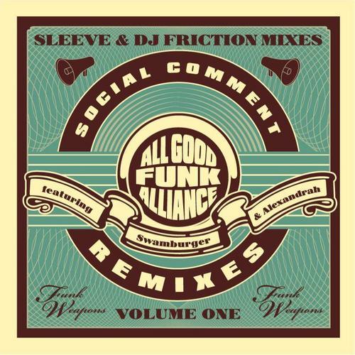Album Art - Social Comment Remixes Vol. 1
