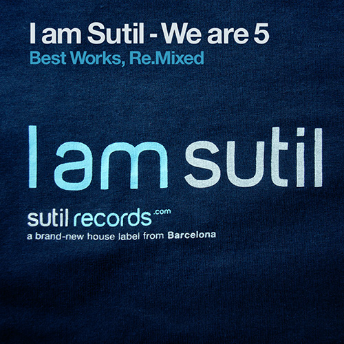Album Art - I Am Sutil - We Are 5 (Best Works, Re.Mixed)