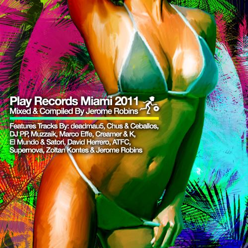 Album Art - Play Records Miami 2011