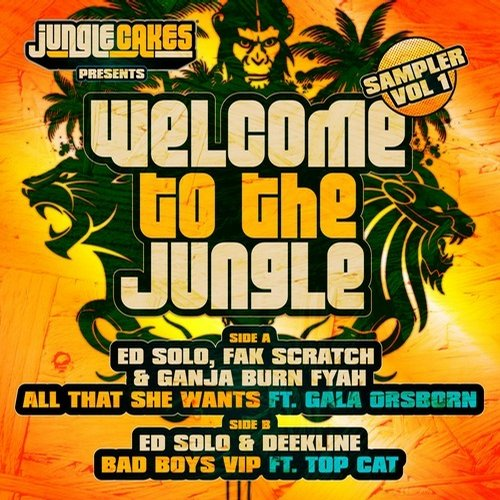 Album Art - Welcome To The Jungle - Sampler Vol 1