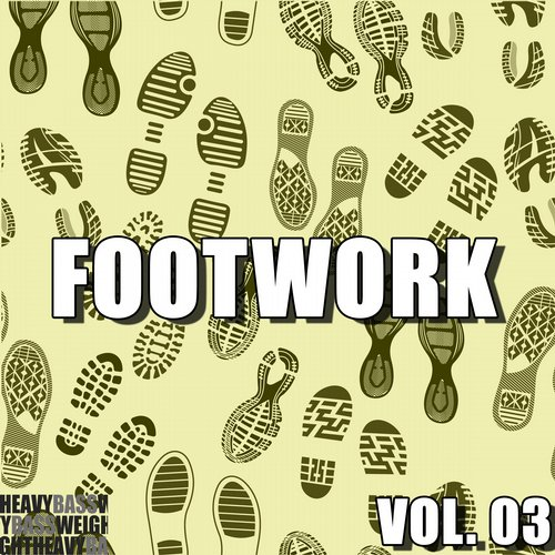 Footwork, Vol. 03 Album Art