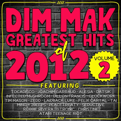 Album Art - Dim Mak Greatest Hits of 2012, Vol. 2