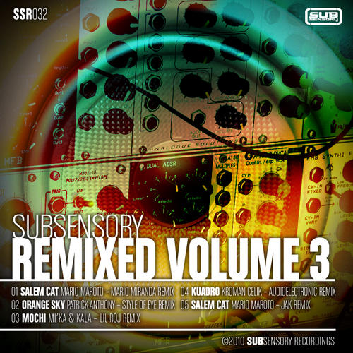 Album Art - SubSensory Remixed Volume 3