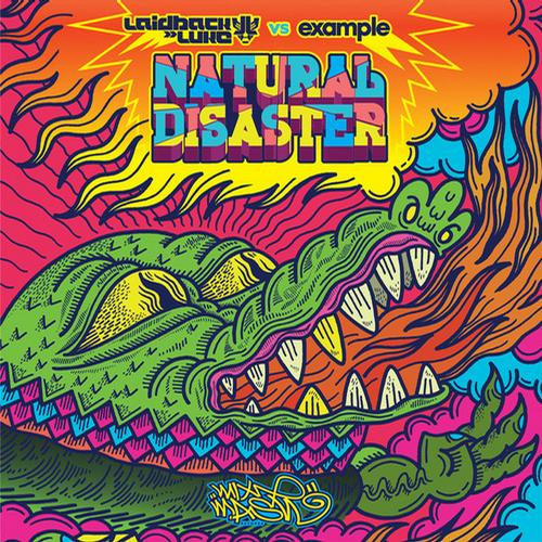Album Art - Natural Disaster (Laidback Luke vs. Example)