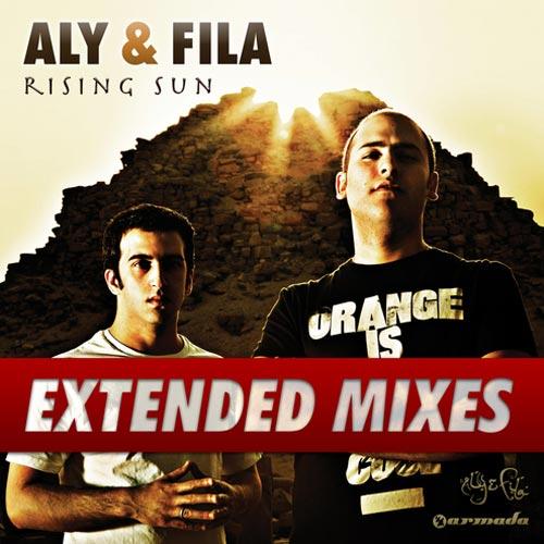 Album Art - Rising Sun - Extended Mixes