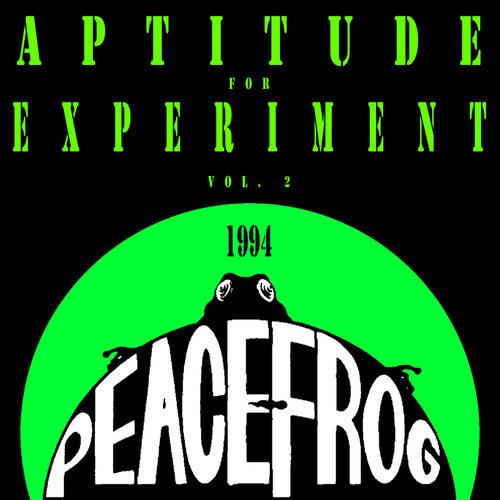 Peacefrog: Aptitude For Experiment Vol. 2 1994 Album Art