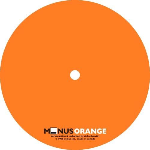 Album Art - Minus Orange