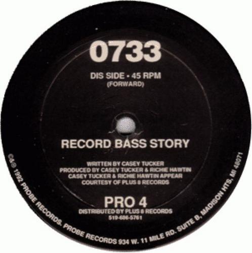 Album Art - Record Bass Story