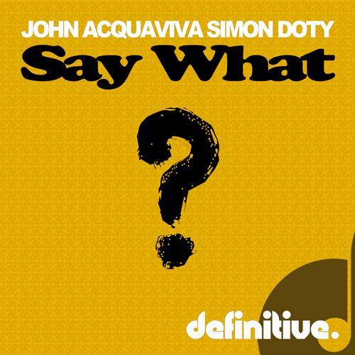Say What? EP Album Art