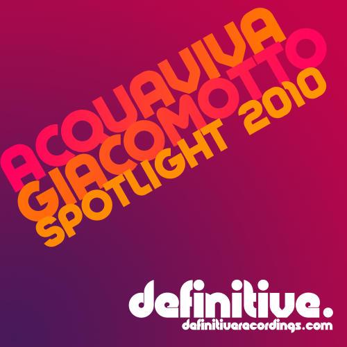 Album Art - Acquaviva Giacomotto Spotlight 2010