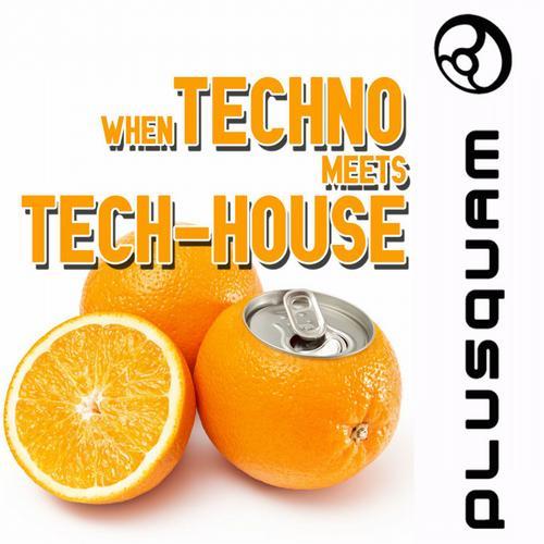 Album Art - When Techno Meets Tech-House